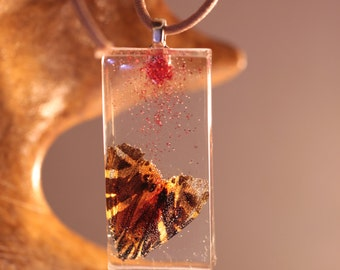 "Pendant - ""Butterfly on my neck"""