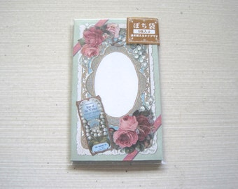 Victorian themed tiny envelopes, Japanese ephemera stationery