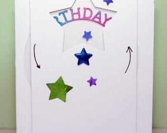 Handmade Interactive Birthday card