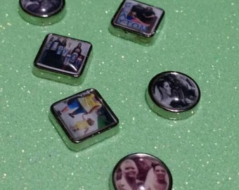 Photo charm, personalized floating locket charms, picture charms, photo memory charms,  custom photo charms, gifts for mom, photo gifts,02