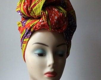 Wax print Headtie, Headwraps, sales headtie