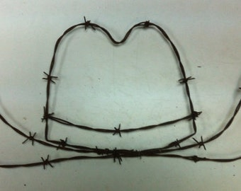 Cowboy Hat - Barbed Wire Art