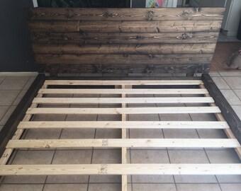 Harmony Ridge - Platform Bed Frame and Headboard