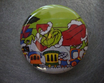 The Grinch Pin or Magnet