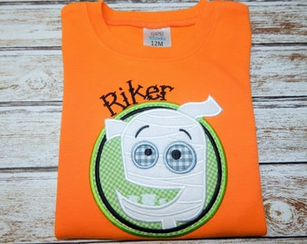 Boy's HALLOWEEN Shirt; Halloween bodysuit; SHIPS 3-5 days