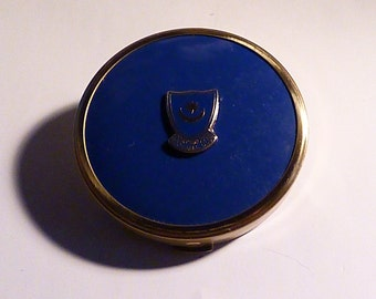 Portsmouth Football Club compact vintage football memorabilia 1950s powder compacts