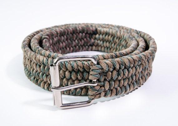 paracord belt rattlesnake
