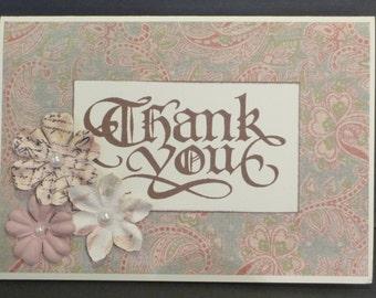 Thankyou card 1423