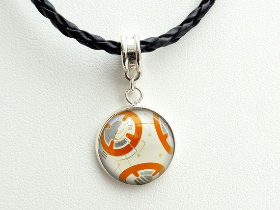 bb8 charm necklace bb 8 wars the by