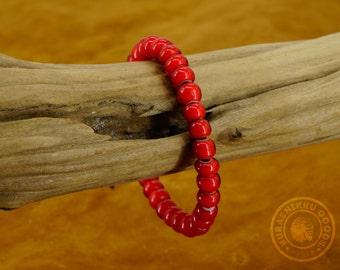 Native American Beaded Bracelet - Kurashikku Goods
