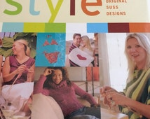 Hollywood Knits Style - pattern book by Suss Cousins