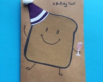 A Birthday Toast Birthday Card