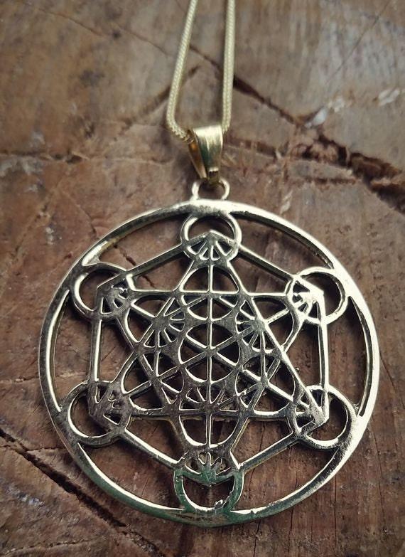 Metatron S Cube Jewelry Of Metatron 39 S Cube Pendant Sacred Geometry Jewellery Flower