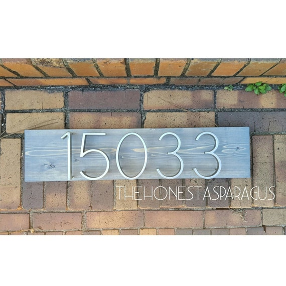 Address Plaque, Wooden Address Plaque, House Numbers Sign, House Numbers Plaque, Address Sign, House Numbers