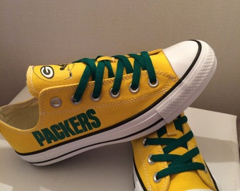 Green Bay packers tennis shoes