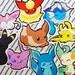 Pokemon Eeveelution Stickers