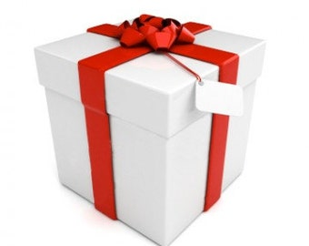 Add Gift Wrapping to any item purchased from our store.