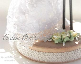 Custom Wedding Cake Topper for Hilda