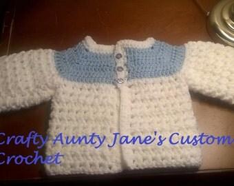 Newborn Sweater 0-3 Mnths