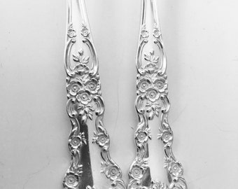 """Spoon Bracelet """"Buttercup"""" Sterling Silver"""