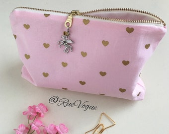 Zippered Pen Pencil Planner Supply Pouch - Made to Order