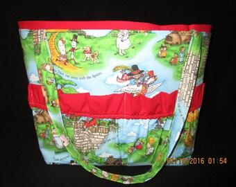 Nursery Rhymes  Diaper Bag.