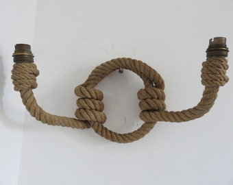 Rope Sconce Etsy