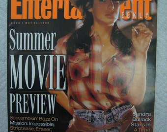 ENTERTAINMENT  WEEKLY - May 24 , 1996 - Summer movie preview - Twister , Flipper