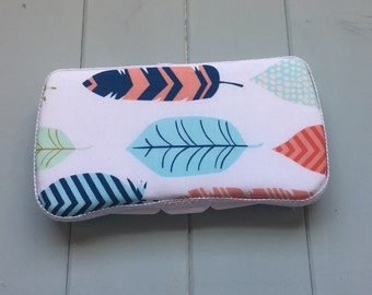 Feather, Wipe Case, Wipes Case, Baby Wipe Case, Travel Wipe Case, Wipes Holder, Baby Wipes Case, Wipes Container, Baby Gift, Babyshower