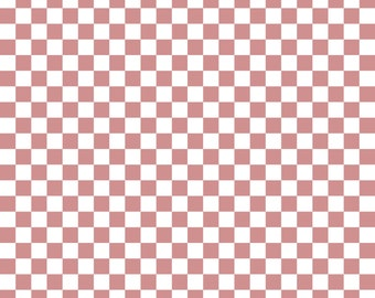 Rosewood Checkered Cardstock Paper