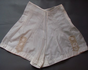 Vintage Boudoir 1930s/1940s 30s/40s TAP SHORTS/Cami Knickers
