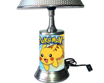 Pikachu Lamp with chrome shade