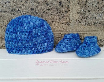 Newborn, whole blue and turquoise, available immediately