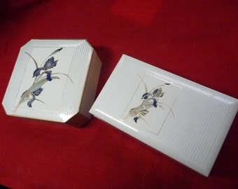 Otagiri Coaster and Music Box made in Japan