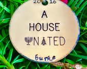 Interfaith Christmas Ornaments/Hanukkah Decorations/Jewish Christmas Ornaments/A House United©/Interfaith Ornaments/Jewish Ornaments