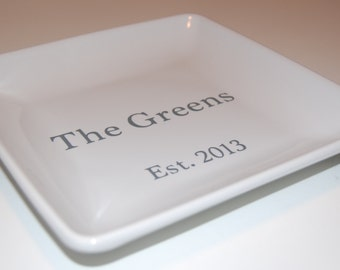 Personalized Catch All Tray