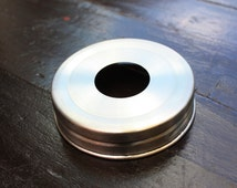 Stainless Steel Soap Pump Dispenser Lid Adapter for Regular Mouth Mason Jars - FREE SHIPPING!