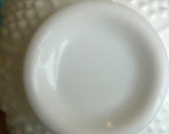 Milk Glass Dish--Small
