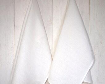 Linen Tea Towel,  Linen  Kitchen Towel, Natural Linen Dish Towel, Rustic Tea Towel, White Kitchen Linen