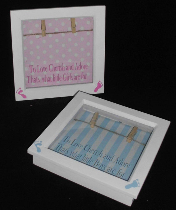 Baby Showers Wirral ~ Baby boy or girl unique photo frame shower new