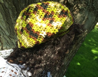 Down to Earth Slouchy Hat, Slouchy Beanie, Dread Hat