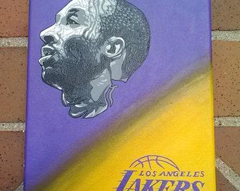 Lakers Kobe Bryant Canvas Painting