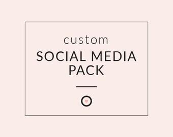 CUSTOM SOCIALMEDIA PACK - Branding Design