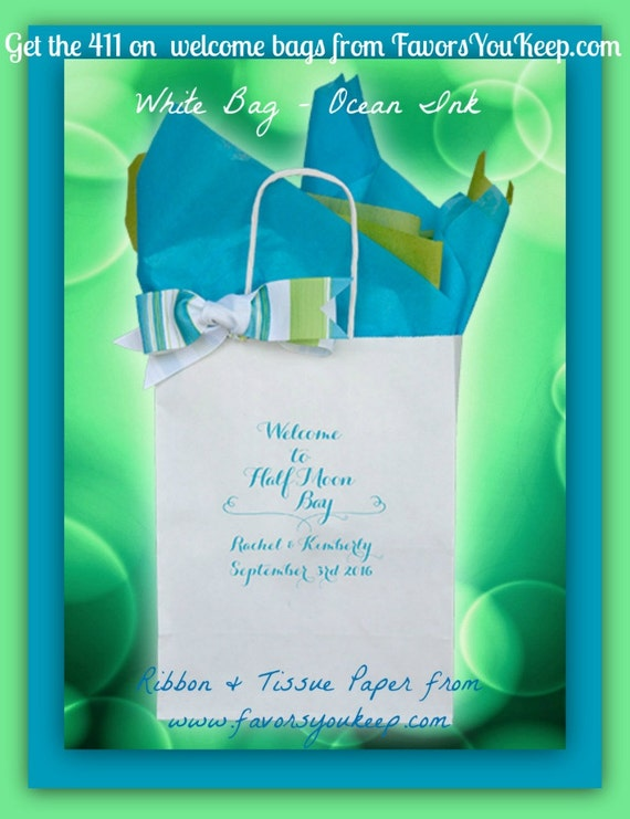 Unique Wedding Welcome Gifts : 25+ Personalized Wedding Welcome Bags Wedding Guest Gift Bag Welcome ...