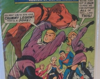 1968 Adventure Comics #373 Superboy and The Legion Of Super-Heroes Who Are The Tornado Twins  Fair-Good Vintage DC Comic Comic Book