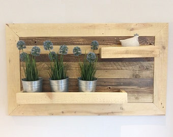 Reclaimed wood shelf Rustic shelf Display shelving Wall shelf Local Timber Industrial shelves Recycled wood Handmade