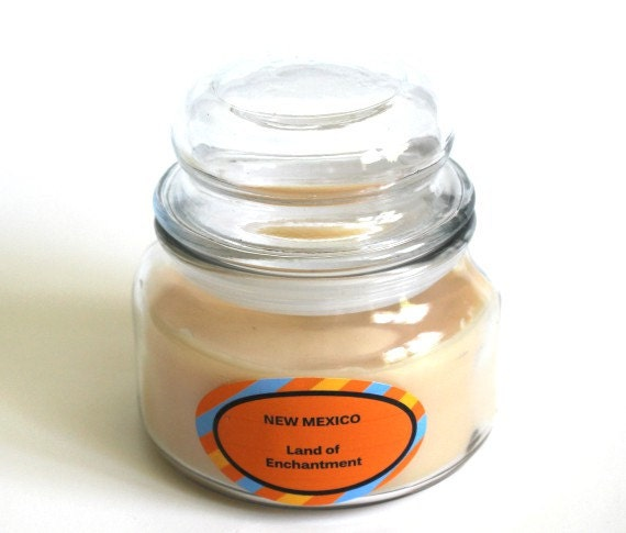 new mexico state scented candle souvenir candle by