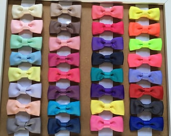 "2"" Pinch Hair Bows - Alligator Clips"