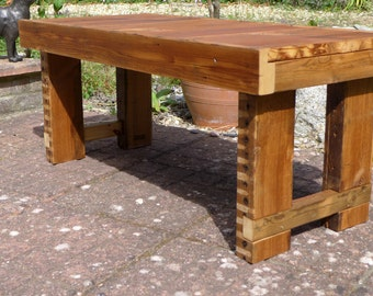 Vintage Reclaimed Wood Coffee Table