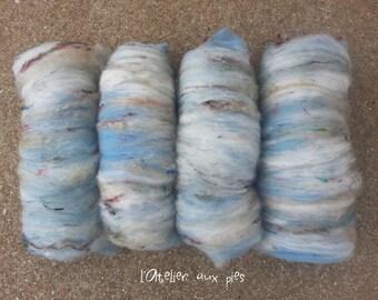 OCEAN: tablecloths carded wool angora kid mohair silk